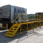 Flatbed fall prevention