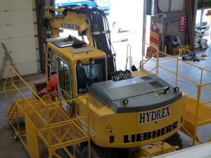 Built For: Hydrex Ltd: Load Angel Work Safe 360 JCB work access platform