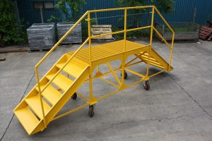 Built For: Balfour Beatty: Load Angel Work Safe Mould inspection Access Platform