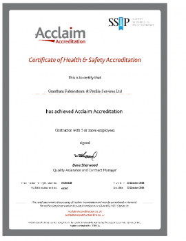 Acclaim Cert