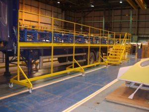 Built For: GKN: Load Angel Load Safe Steps and fall restraint barrier