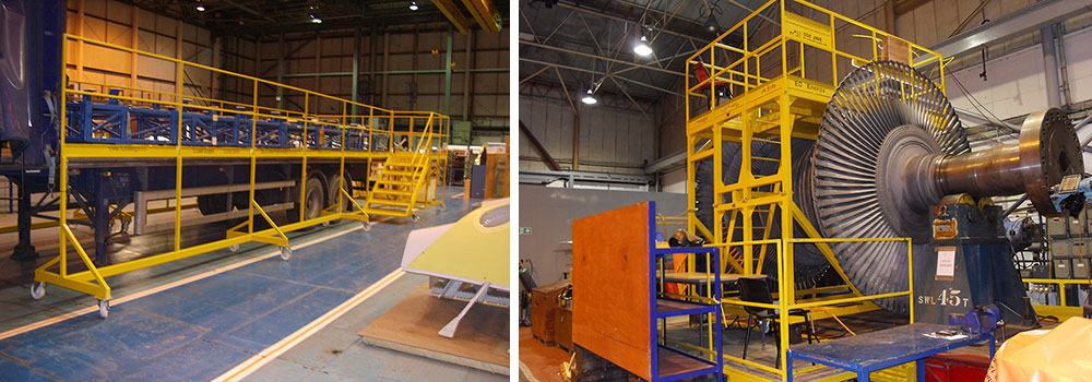 Load Angel Flatbed Fall Prevention Platforms